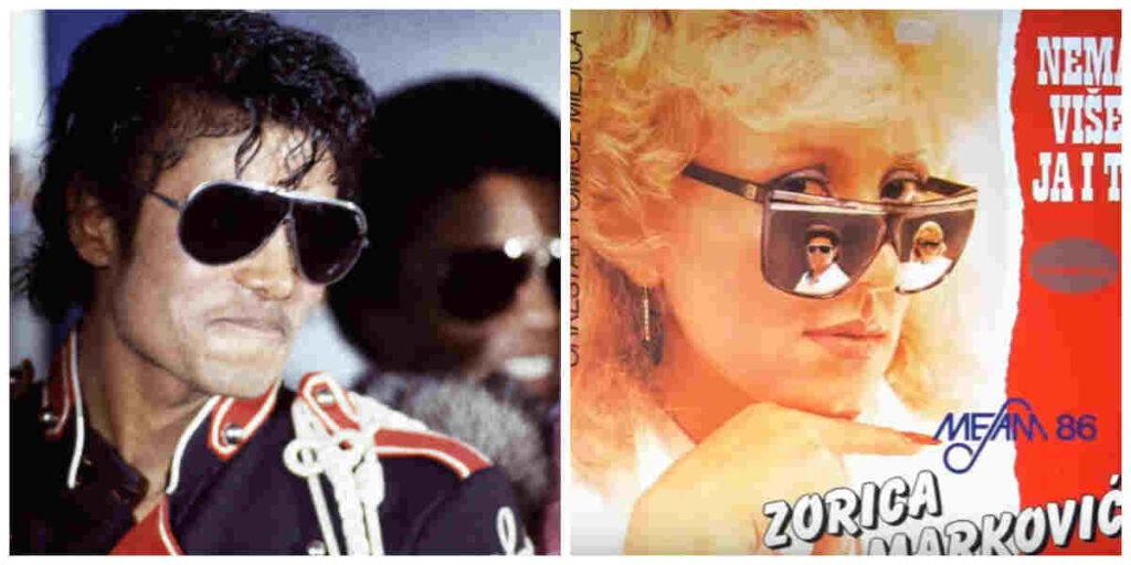 Michael Jackson i Zorica Markovic