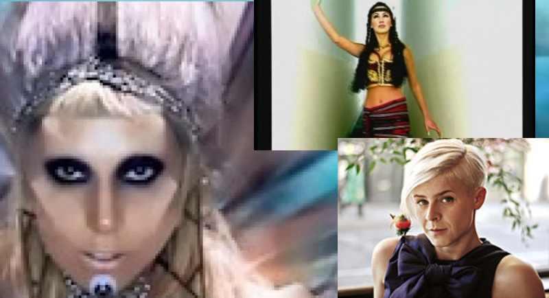 Modelsice, Robyn i Lady Gaga