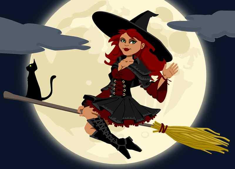 witch- ilustracija